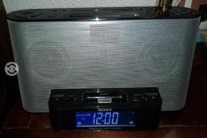 Sony icf-cs10ip, radio am/fm, despertador, bocina
