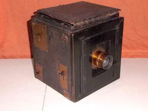 Antigua cámara inglesa de fuelle excelente estado 1904-1915