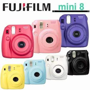 Fujifilm instax mini 8 sellada camara instantanea + 20 fotos