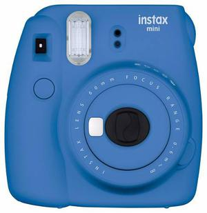 Fujifilm instax mini 9 azul camara instantánea selfie