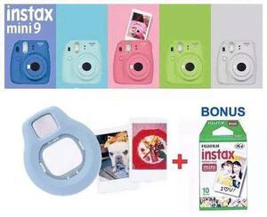 Fujifilm instax mini 9 camara instantanea y rollo gratis