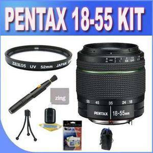 Pentax da 18-55mm f/3.5-5.6 al weather resistant lens for pe
