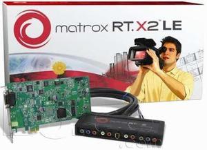 Targeta matrox rtx2 hd edicion de video profesional
