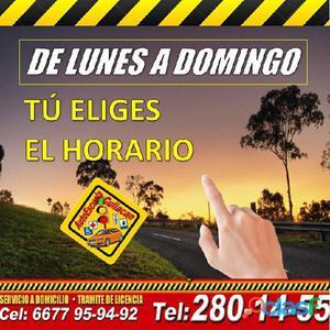 Aprende a manejar, en Autoescuela Culiacán