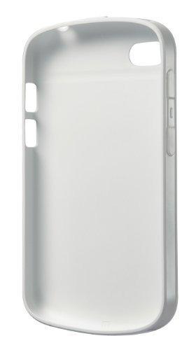 Blackberry soft shell para blackberry q10 - blanco