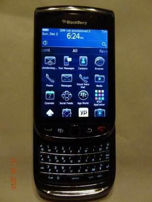 Blackberry torch 9800 gsm 3g cámara smartphone, at amp; t