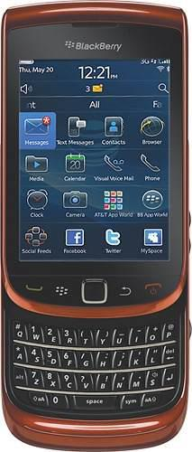 Blackberry torch 9800 smartphone 4gb