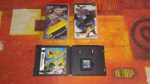 Juegos psp y nds(monster hunter,bob sponja,crazy taxi)