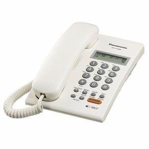 Kx-t7705 telefono unilinea con pantalla, speaker, caller id