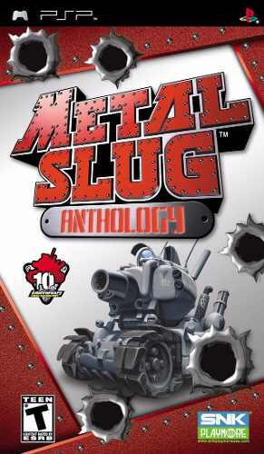 Metal slug anthology para psp perfecto estado--------mr.game