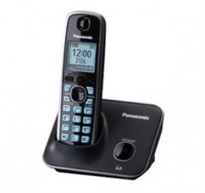 Panasonic teléfono detc con pantalla lcd de 1.8'' azul/negr