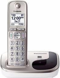 Panasonic teléfono inalámbrico con altavoz e identificador