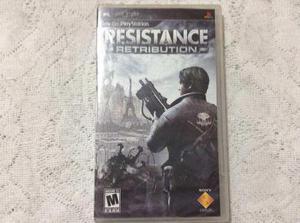 Psp resistance *nuevo*(no metal slug,crash,call of duty)