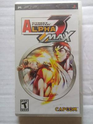 Street fighter alpha 3 max psp nuevo sellado playstation