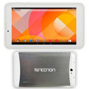Tablet 7 8gb android 4.4 3g wifi necnon m002d-2 plata