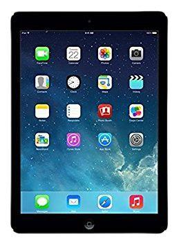 Tablet apple ipad air md785ll/b 16gb wifi -negro-gris