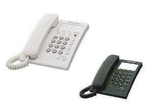 Telefono alambrico con memorias panasonic kx-ts550mew