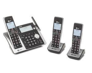 Teléfono dual at&t cl83213-3 identificador/llamada en