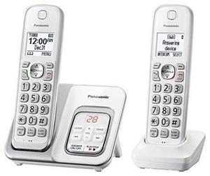 Teléfono inalambrico panasonic kx-tgd532w contestadora