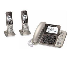 Teléfono inalámbrico panasonic kx tgf350-2 contestadora