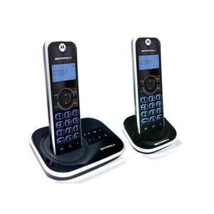 Teléfonos inalámbricos motorola gate4500ce-2 dect 6.0