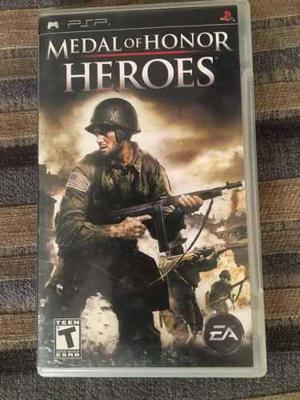Videojuego medal of honor heroes para psp