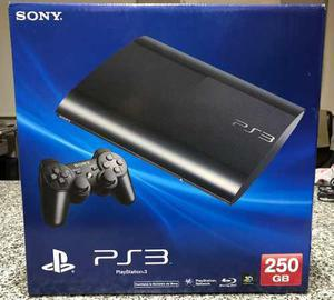 Consola play station slim ps3 250 gb fifa 19 mas regalo