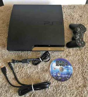 Consola playstation ps3 slim 1 juego, 1 mando, cable hdmi
