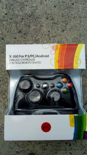 Control inalambrico x box 360, ps3,pc y tv box