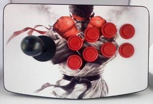 Control tablero arcade inalámbrico ps3 pc raspberry pi