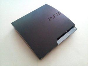 Play station 3 slim 120gb + 2 controles + juego a elegir