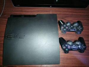 Ps3 160gb + dos controles + 6 juegos físicos