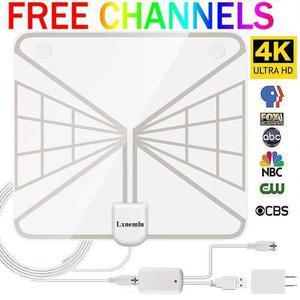 Antena hd tv amplificador señal booster -transparente