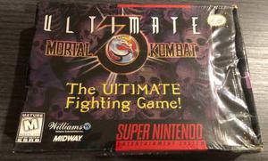 mortal kombat 3 ultimate snes
