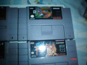 Super nintendo superstar soccer final fight sf 2 turbo snes