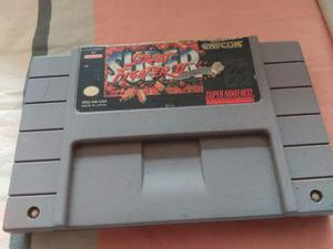 Super street fighter 2 snes super nintendo capcom