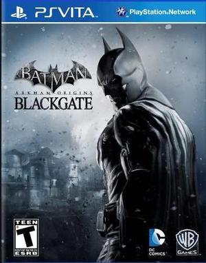 Batman arkham origins blackgate - playstation vita