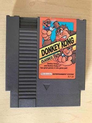 Donkey kong classics - juego de nintendo nes
