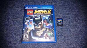 Lego batman 2 dc super heroes completo ps vita,excelente