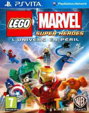 Lego marvel super heroes ps vita nuevo sellado envio gratis