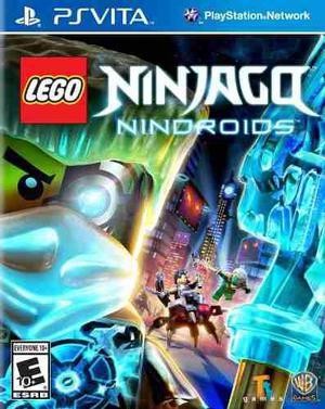 Lego ninjago nindroids ps vita nuevo citygame