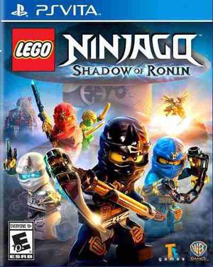 Lego ninjago shadow of ronin ps vita nuevo