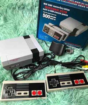 Mini game tipo nintendo nes 500 juegos consola videojuegos