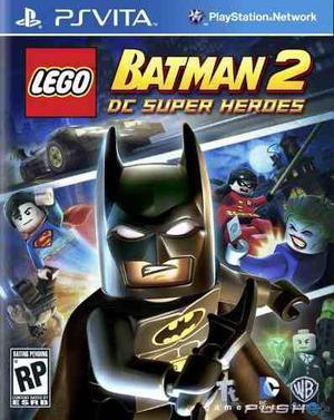 Ps vita - lego batman 2 - juego fisico (mercado pago)