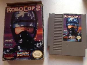 Robocop 2 nintendo nes caja juego