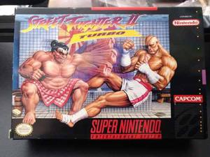 Street fighter 2 turbo super nintendo