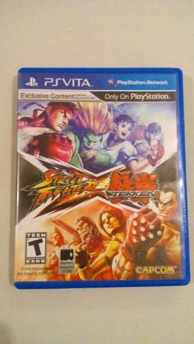 Street fighter vs tekken ps vita
