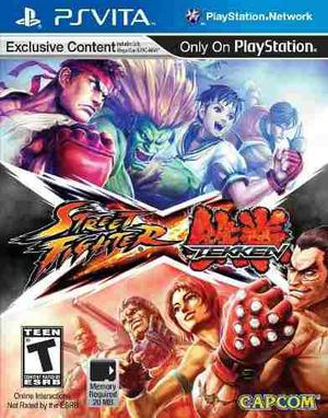 Street fighter x tekken - playstation vita
