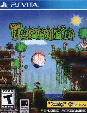 Terraria ps vita playstation vita juego nuevo en karzov