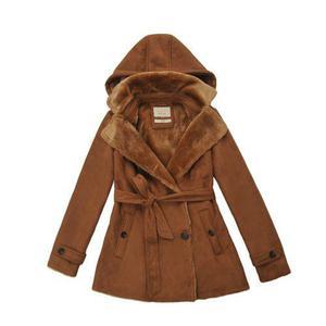b1027dd730712 Abrigo chamarra hoodie casual moda de mujer marca roosevelt
